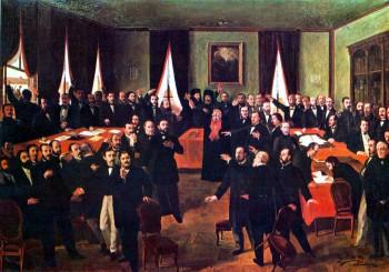 "Theodor Aman - ""Proclamarea Unirii"""