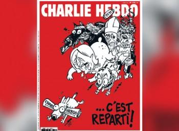Pagina 1 din noul Charlie Hebdo