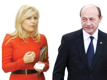 Elena Udrea şi Traian Băsescu