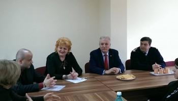 Gabriela Opriş a fost învestită în funcţia de manager la Ambulanţă