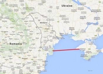 Granita Romaniei la 400 kilometri de Crimeea