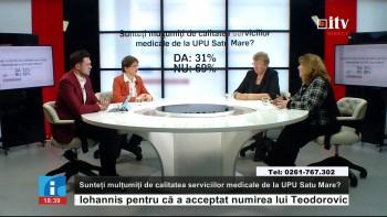Alături de Sergiu Podină şi Mihaela Ghiţă, în Studioul ITV au fost Adriana Moldovan şi Maria Băban