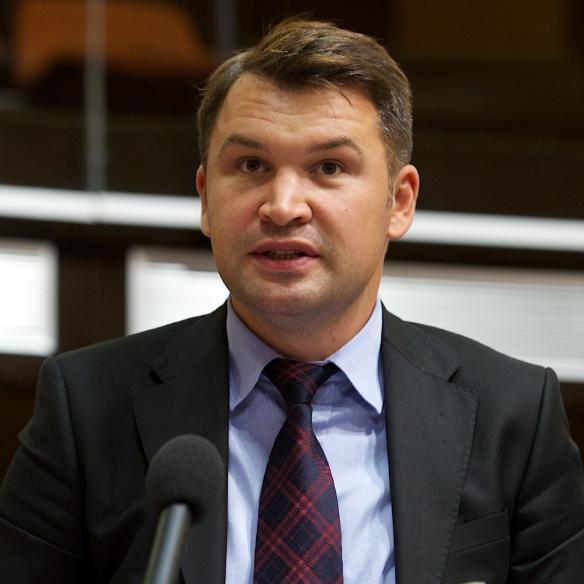 Ionuţ Stroe, purtătorul de cuvânt al PNL