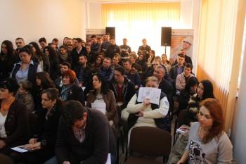 Peste 100 de persoane au fost prezente la lansarea proiectului