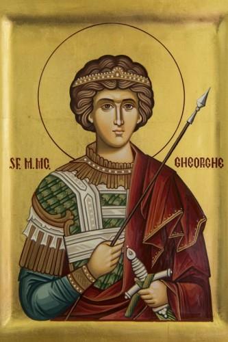 In 23 aprilie este prăznuit Sfântul Mare Mucenic Gheorghe, purtătorul de biruinţă