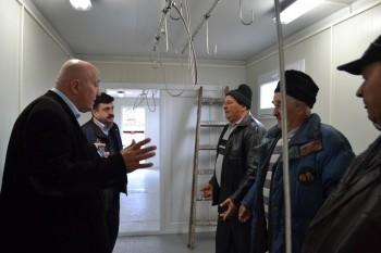 Primarul Coica in inspectie la Piata de Vechituri