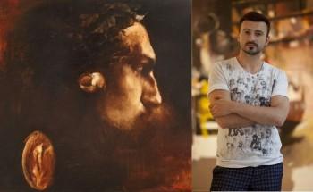 Adrian Ghenie şi autoportretul său