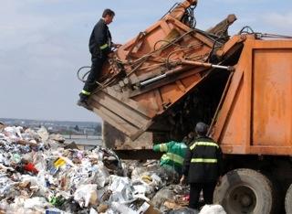 Groapa de gunoi din judet
