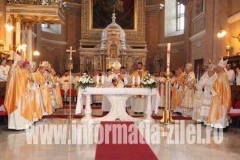 Liturghia comuna a fost oficiata la Catedrala Romano-Catolica