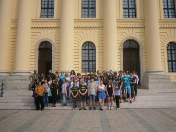 """A fost penultima întâlnire din cadrul Proiectului Comenius """"Momente din trecut şi prezent"""""""