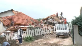 Casa distrusa Negresti
