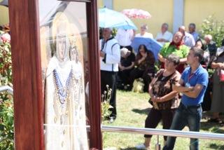 Icoana Maicii Domnului de la Bixad a fost asezata la Manastirea Prilog