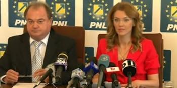 Vasile Blaga şi Alina Gorghiu
