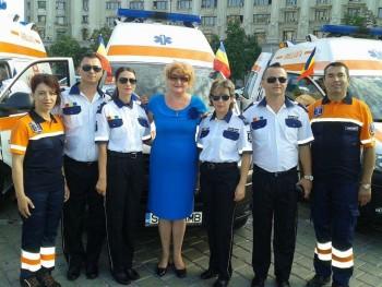 O delegaţie din Satu Mare prezentă la Ziua Naţională a Ambulanţei
