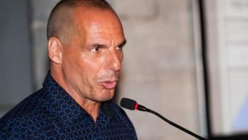 Ministrul grec de finanţe, Yanis Varoufakis