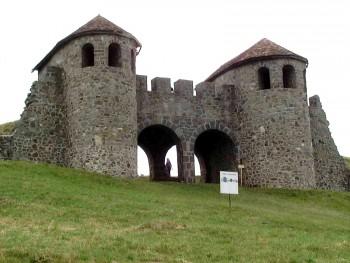 Intrarea castrului Porolissum