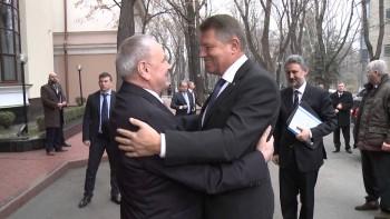 Iohannis s-a mai întâlnit cu Timofti în 25 februarie