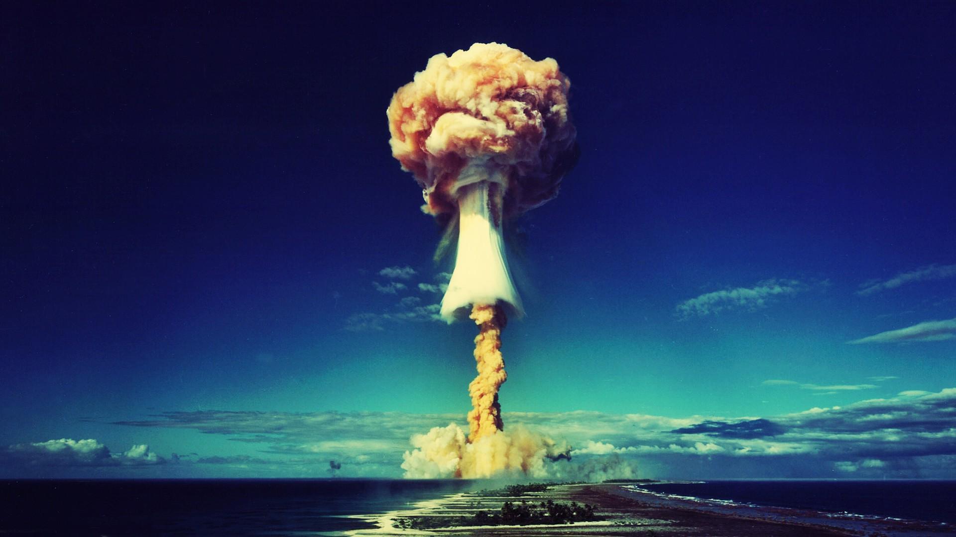 Bikini atomic explosion