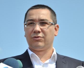 Premierul Victor Ponta