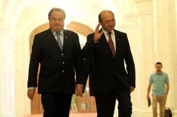 Vasile Blaga şi Traian Băsescu