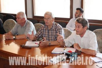 Sedinta pensionari la Prefectura Satu Mare