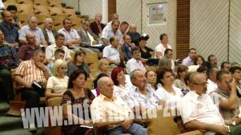 Participanti la instruirea privind evaluarea pierderilor produse de secetă