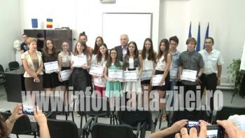 Copii de 10 premiati la inspectorat