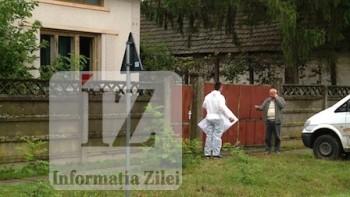 Casa in care s-a petrecut crima din Micula