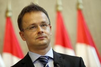 Ministrul ungar de Externe, Peter Szijjarto