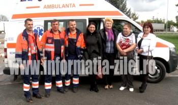 Direcţia pentru Protecţia Copilului şi Serviciul de Ambulanţă Satu Mare au făcut front comun pentru salvarea ei