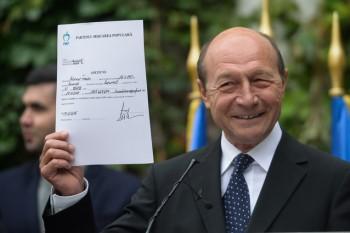 Traian Băsescu arată adeziunea la PMP