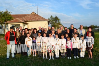 Participanti la medalionul Ion Vadan de la Gelu