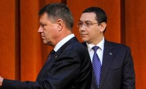 Klaus Iohannis şi Victor Ponta