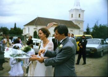 Dacian Cioloș și soția sa