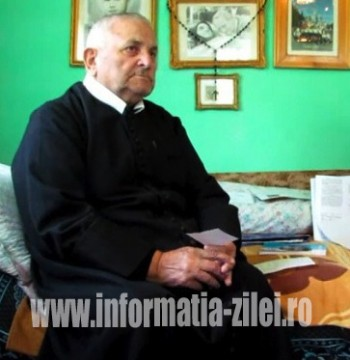 Părintele Filip Crăciun, ultimul călugăr al Mănăstirii Baziliene de la Bixad a trecut la cele veşnice