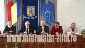 Prefectul Eugeniu Avram a prezentat o informare privind obţinerea despăgubirilor pentru secetă