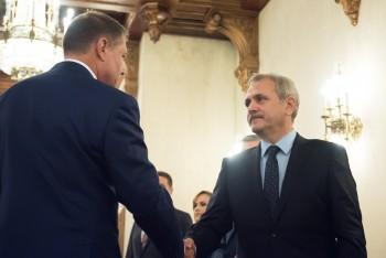Iohannis a discutat cu liderii PSD