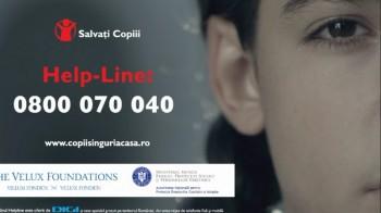 Au fost lansate linia telefonică Help - Line 0800.070.040 şi platforma www.copiisinguriacasa.ro, două instrumente menite să ofere informaţii şi consiliere gratuită copiilor ce au plecaţi părinţii la muncă în străinătate.