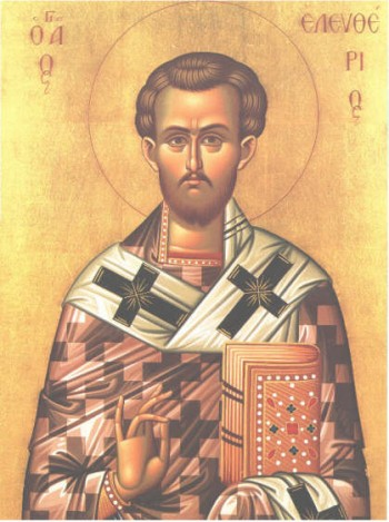 Sfântul Sfinţit Mucenic Elefterie, Episcopul Iliriei