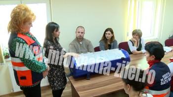 Un incubator în valoare de 31.000 lei a intrat în dotarea Serviciului Judeţean de Ambulanţă Satu Mare
