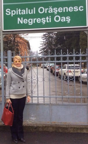 Andreea Paul la Spitalul Negresti