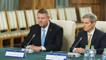 Klaus Iohannis și Dacian Cioloș