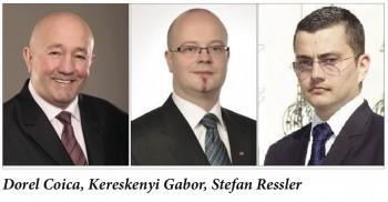 Dorel Coica, Kereskenyi Gabor, Stefan Ressler