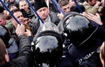Protestul fermierilor de la Bucuresti