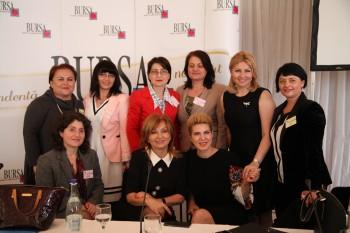 """Directorul de marketing al Fabricii de mobilier de lux SARMEXin a participat joi la Conferinţa Antreprenoriatul Feminin """"Femeia la putere - o lume mai bună"""""""