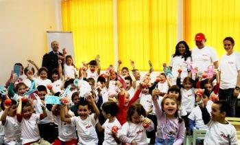 actiune a E-ON impreuna cu pmpierii cu copii prescolari