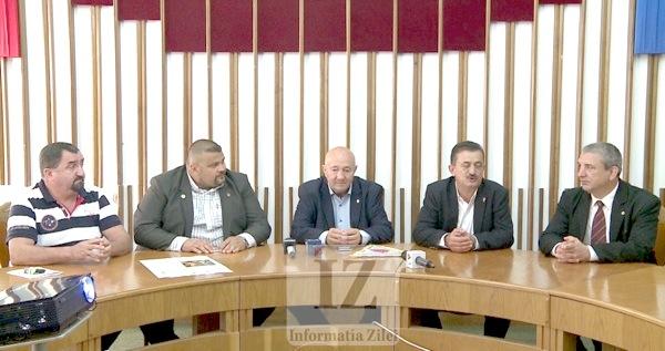 Ioan Gavriş, Florin Mulcuţan, Dorel Coica, Viorel Plosca, Ioan Ghere
