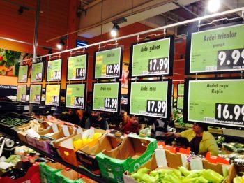 Preturile alimentelor a inregistrat luna trecuta cea mai mare crestere din ultimii patru ani