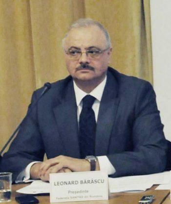 Leonard Bărăscu câştigă 7.500 de euro pe lună