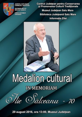 Salceanu-medalion cultural-70 ani